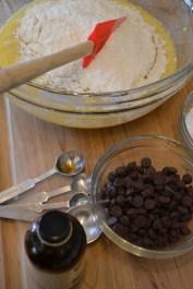 Adding the Flour Mixture