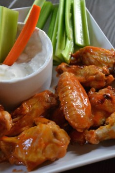 Buffalo Hot Wings without the Fryer