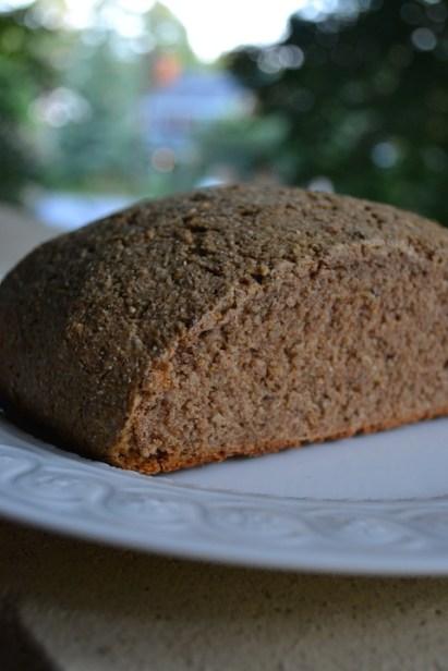 Rye Bread from Side