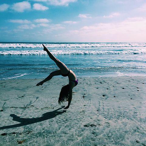 zen et heureux en bonne santé