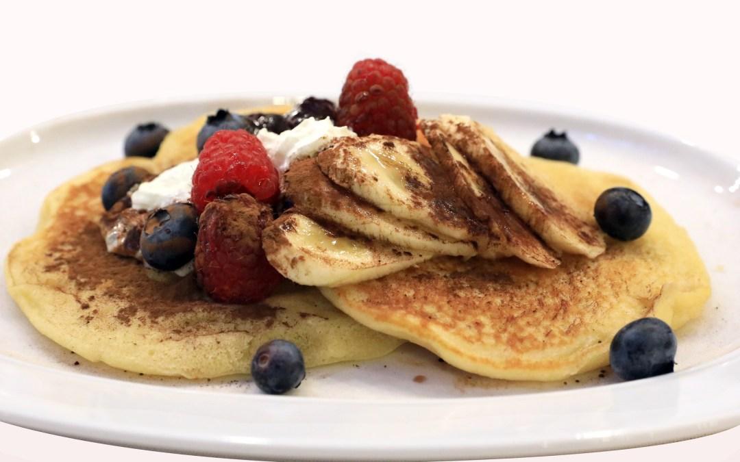 Pancake keto à la banane