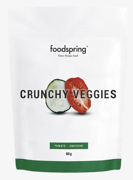 Les légumes croquants de chez Foodspring