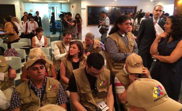 Internationale Wahlbegleiter bei der Abstimmung in Venezuela