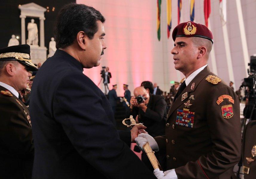 Resultado de imagen para Presidente encabeza acto de ascenso de generales y almirantes de la FANB