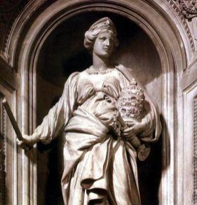Gianlorenzo Bernini, Monumento a Matilde di Canossa nella Basilica di San Pietro, Roma_2