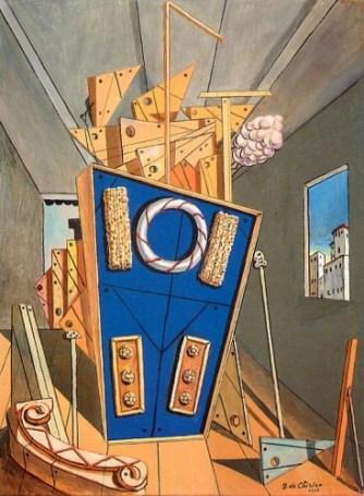 de-chirico-interno-metafisico-con-biscotti-1968