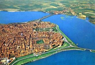 Mantova dall'alto
