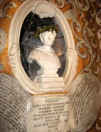 cappella funeraria di Teofilo Folengo - busto