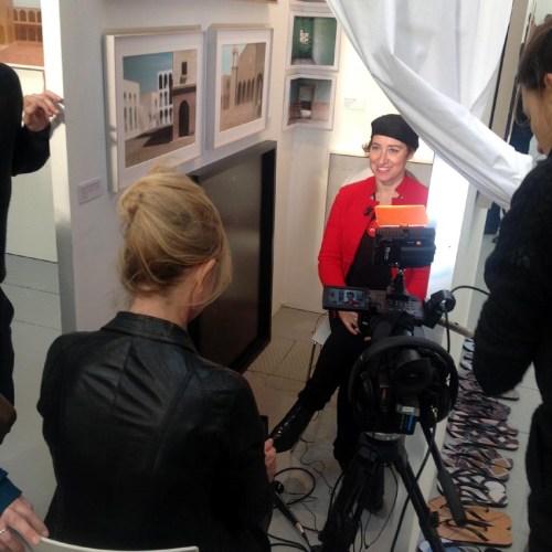 Mari Llivia Brunelli viene intervistata da Rai cultura.jpg