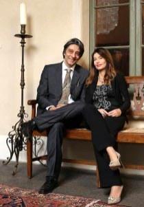 prof. Giulio Busi e prof.sa Silvana Greco