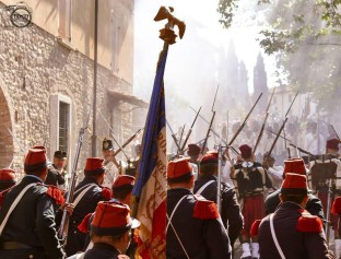 Gruppo di Rievocazione Storica 100éme de Ligne - foto dal post tuttostoria.net