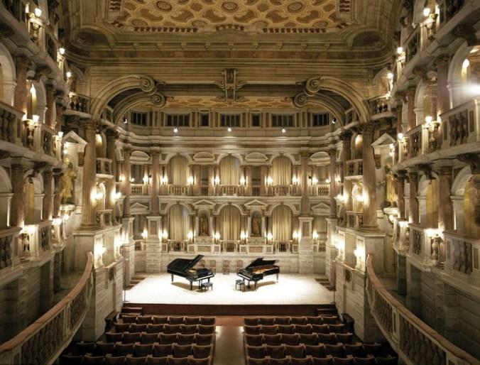 foto per UNESCO Comune di Mantova Teatro Biniena