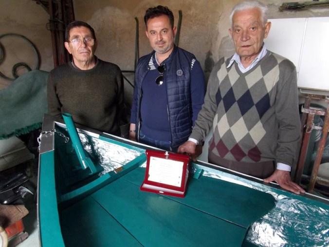 da sx Gino Mondini-Luca e Nino Tortorelli
