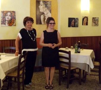 Da dx Annalisa Bonafini e Grazia Badari