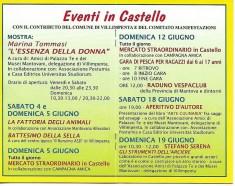 EVENTI IN CASTELLO