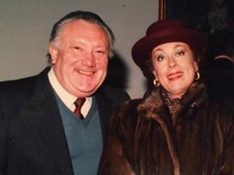Giovanni Dordoni con il mezzosoprano Franca Mattiucci