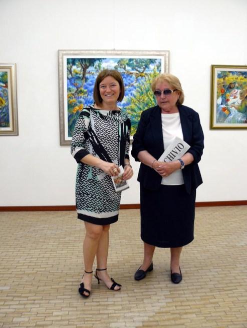 Luciana Manelli con Arianna Sartori