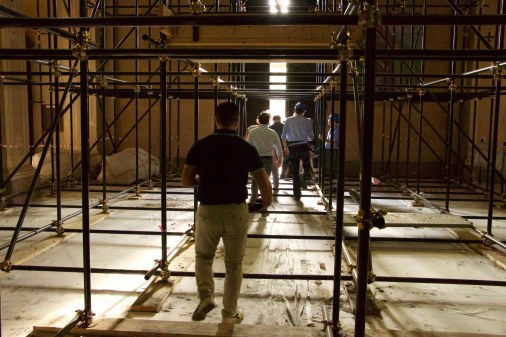 Reggiolo-chiesa in ristrutturazione