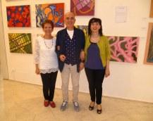 Anna Somensari con gli amici mantovani