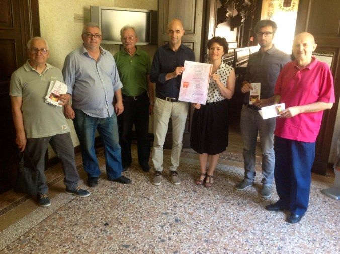 Presentazione in Comune del cartellone delle rassegne estive da parte degli organizzatori