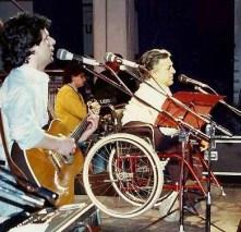 Luca Bonaffini con Pierangelo Bertoli