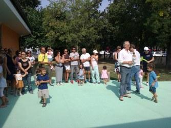 inaugurazione scuola dell'infanzia