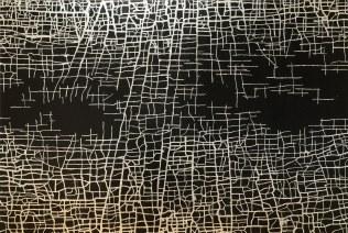 massimiliano-galliani-le-strade-del-tempo-8-2015-acrilico-e-acciaio-in-foglia-su-tela-cm-140x210