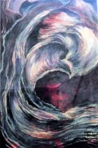 Casarotto - canyon - acquerello