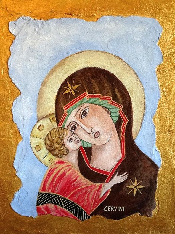 cervini-milena-madre-di-dio-2009-affresco-a-secco