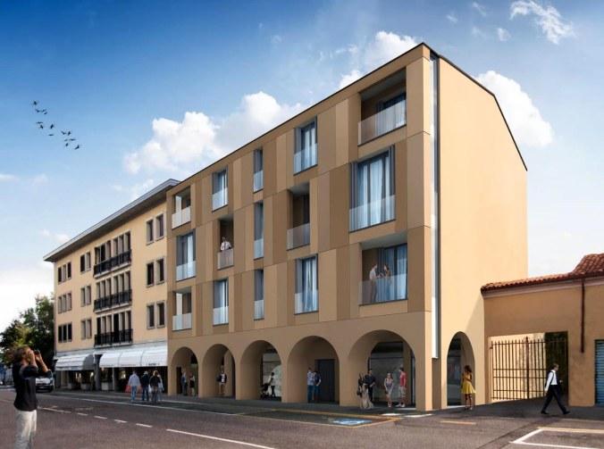 Reggiolo ex municipio presentato il progetto di for Progetto di ristrutturazione