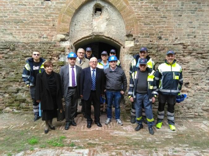 Visita Fabiani con Manghi, Angeli, Albinelli.jpg