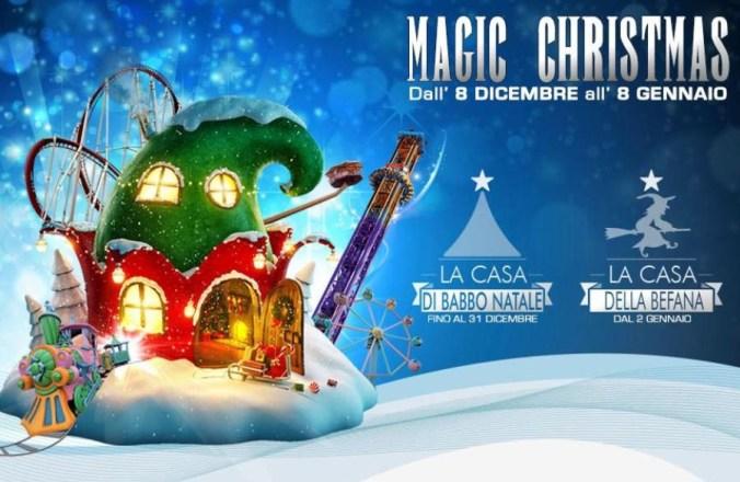Babbo Natale 8 Dicembre Roma.Roma La Magia Del Natale Ti Aspetta A Rainbow Magicland