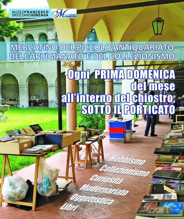 Mantova al chiostro del diocesano torna il mercatino for Gonzaga mercatino