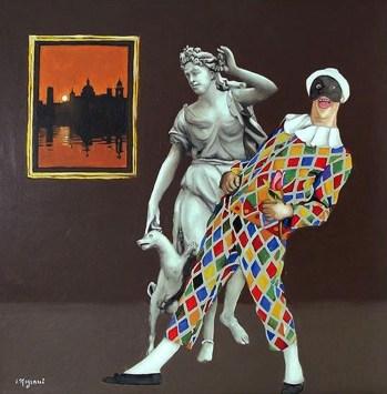 NIGIANI IMPERO - Caro Arle ... olio su tavola, 60x60.jpg