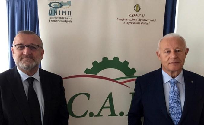 Da sx Gianni Dalla Bernarnardina e Sandro Cappellini