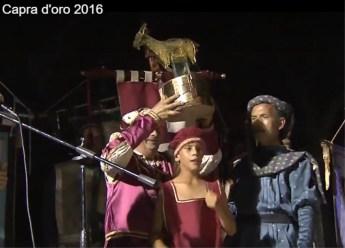 capra d'oro 2016