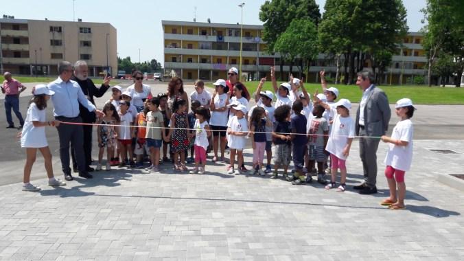 inaugurazione della piazza UE
