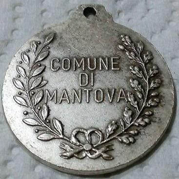 Medaglia-Del-Comune-Di-Mantova