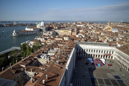 Campanile views of Venice -® EXHIBITION ON SCREEN (David Bickerstaff)