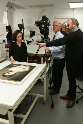 Filming Clara de la Pena Mc Tique _2_Windsor Castle -® EXHIBITION ON SCREEN (David Bickerstaff)