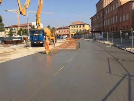 Interventi nel centro storico di Reggiolo1