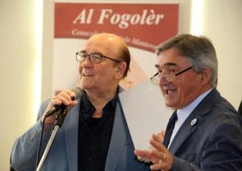 2015 - 45° Il Presidente onorario e cofondatore Fredón con Wainer Mazza.