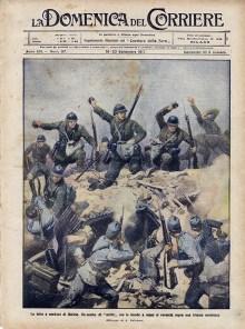 n.37 la lotta a nord-est di Gorizia