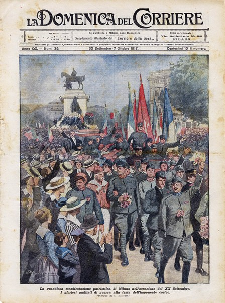 n.39 manifestazione patriottica a Milano