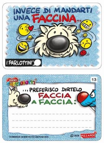 Parlottini_Emoticon_AMICI CUCCIOLOTTI