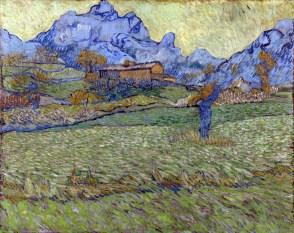 1 - KM 100.443 Wheat fields in a mountainous landscape, end November - begin December 1889