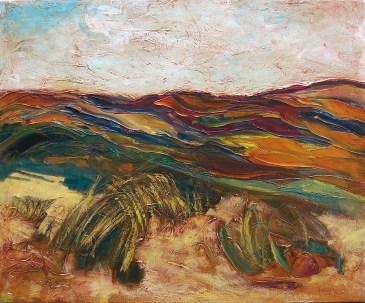 NEGRI SANDRO - Terre senesi, 2006, olio su tela, 50x60