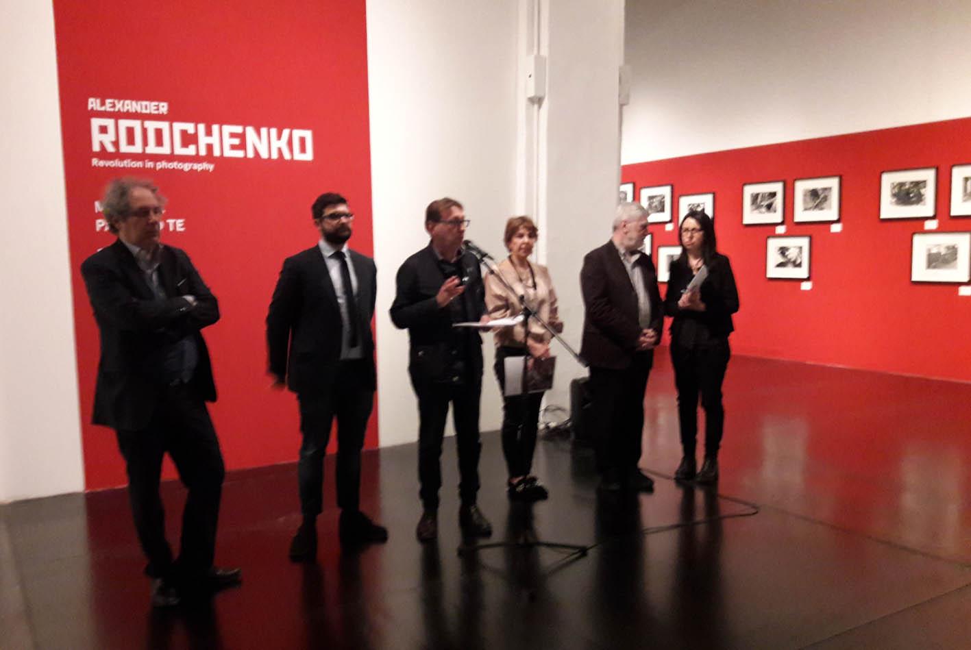 PRESENTAZIONE DELLA MOSTRA - FOTOGRAFIA RIVOLUZIONARIA DI ALEXANDER RODCHENKO
