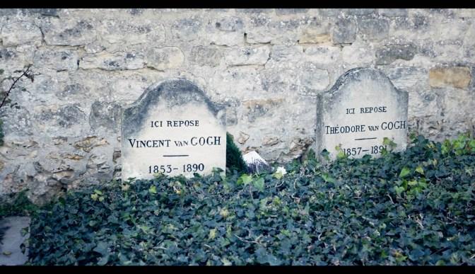 Tomba di Van Gogh ad Auvers sur Oise dal film _Van Gogh tra il grano e il cielo_