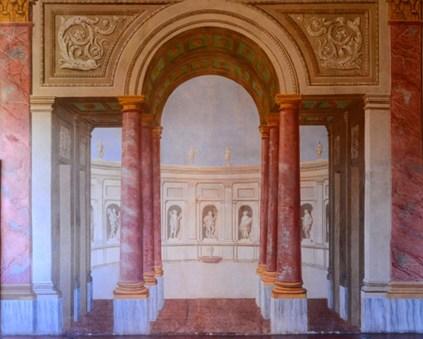 palazzo gonzaga - volta mantovana